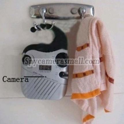 hidden camera for bathroom - Bathroom Spy Radio  Hidden HD 720P Spy Camera DVR 8GB (Motion Activated And Remote Control )