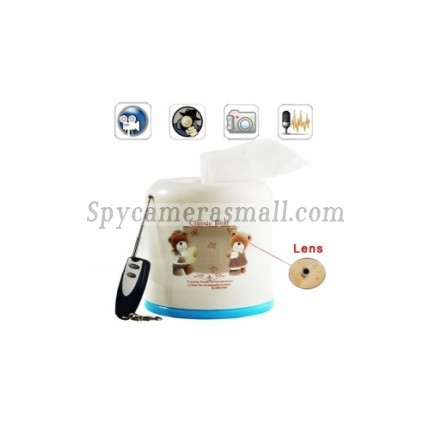 security lighting - 4GB Tissue Box Spy Camera With Remote Control Cycle Recording 720 X 480