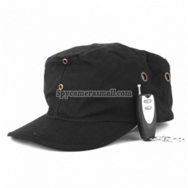 Wearing Class Hidden Spy Camera - High Definition Cap Style Spy DVR Camera Remote Control With 4GB Buit-in Memory Hidden Camera