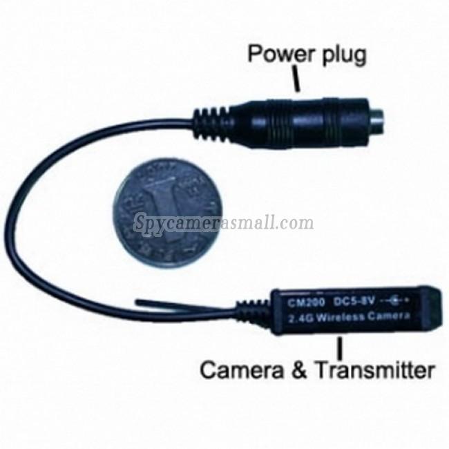 Professional wireless hidden Spy Camera - Spy Wireless Surveillance Hidden Camera with Receiver
