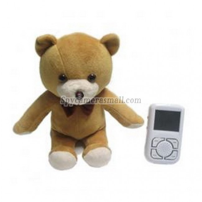 Wireless Receiver Baby Monitor - 2.5 Inch CMOS Bear-shaped camera Built-in speaker Baby Monitor