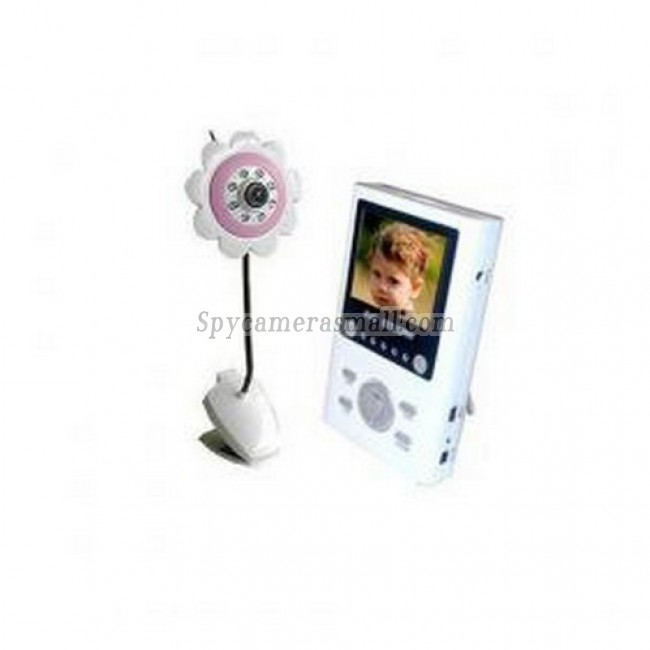 """Wireless Receiver Baby Monitor - 2.4G 4CH2.5""""TFT LCD Compact Wireless Portable AV Receiver Baby Monitor"""
