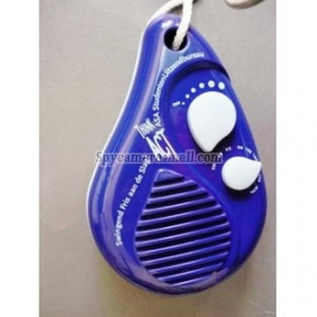 spy camera for bathroom - Shower Spy Radio Hidden 720P Motion Activated Bathroom Spy Camera DVR 16GB