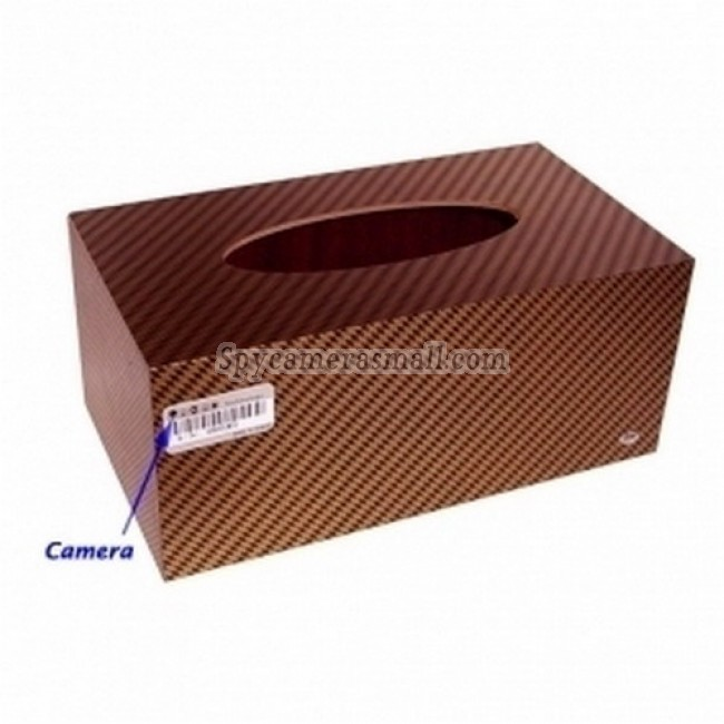 Toilet roll Box hidden spy Camera - 4GB Tissue Box Style Digital Video Recorder with Remote Control and Hidden Pinhole Color Camera