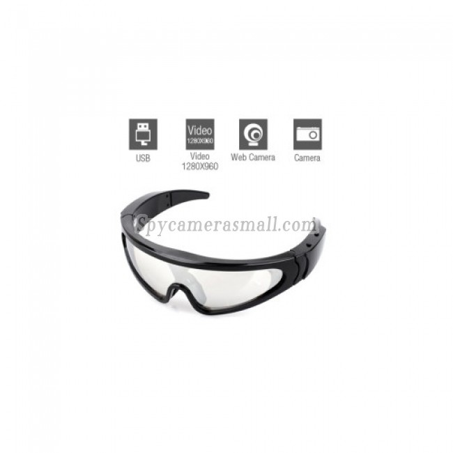 Spy Sunglasses Cameras - HD Waterproof Spy Sunglasses Camera (4GB)
