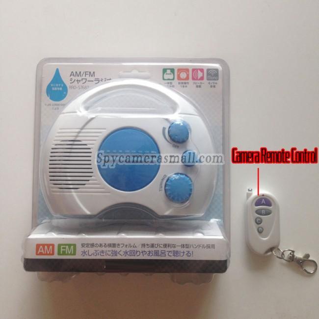 Radio for menn toalett spion kamera 1080P DVR Full HD 32G Bevegelsessensor beste skjult kamera