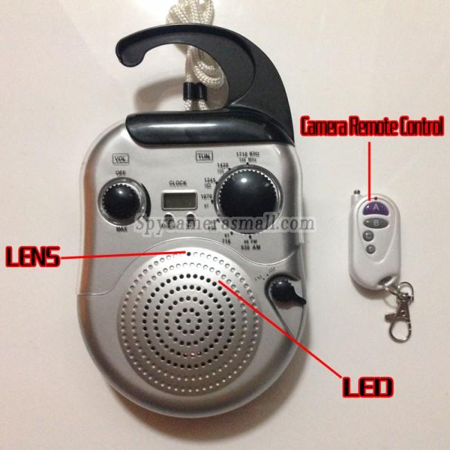 Radio for menn spionkameraer 720P DVR Full HD 16G Bevegelsessensor beste skjult kamera