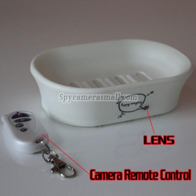 Såpeboks-pinhole-kamera 1080P DVR Full HD 16G Bevegelsesaktivert beste skjult kamera
