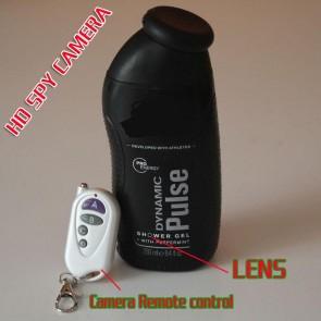 Men's Shower's Gel Bottle Spy Camera 1080P Motion Detection 32GB Super Low Light (Free-shipping Worldwide),best Gel Bottle Spy Camera, Bathroom Spy Camera