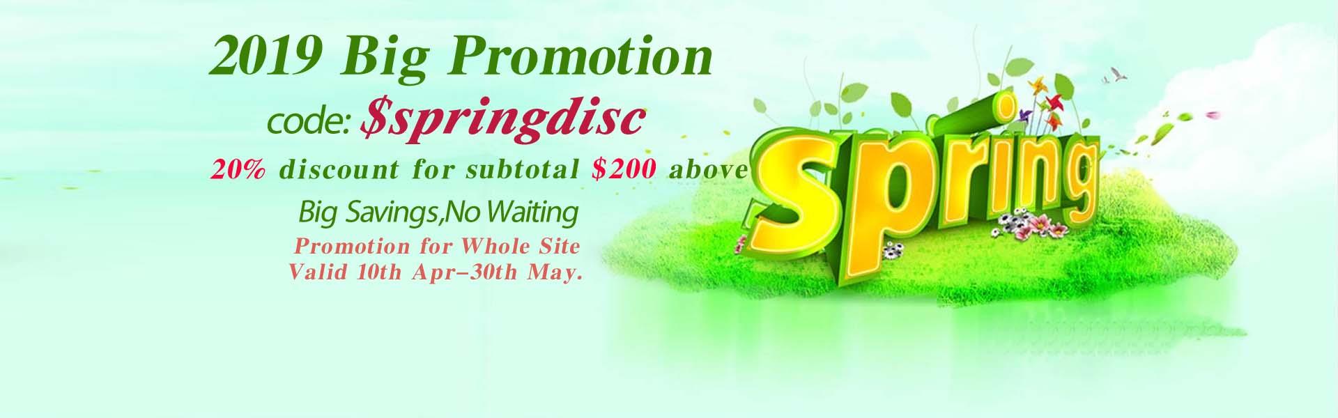 promotion Spring 2019